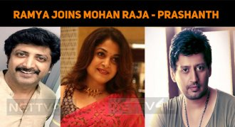 Ramya Krishnan Joins Mohan Raja?