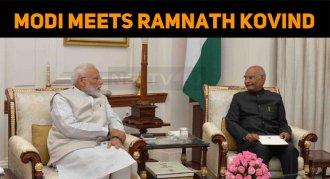 PM Modi Meets President Ramnath Kovind!