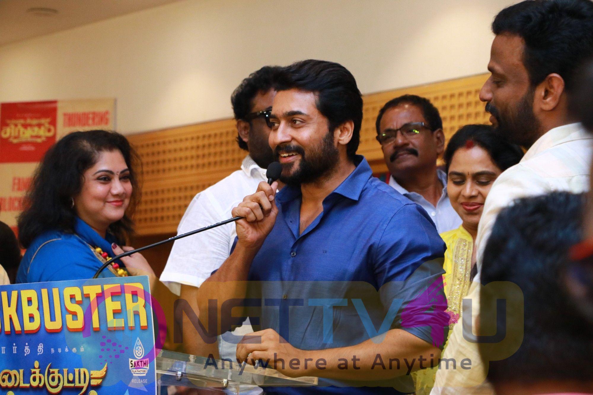 Kadaikutty Singam Success Meet Pics Tamil Gallery