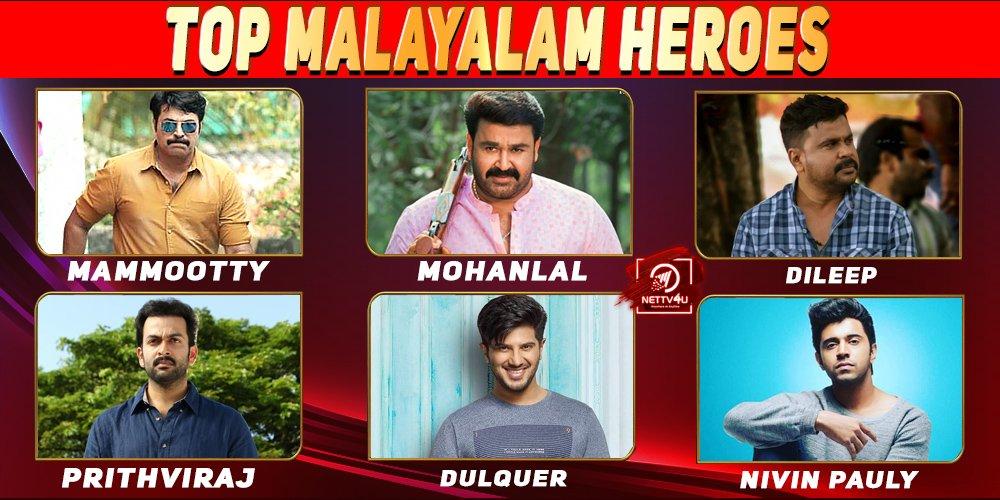 Top 10 Malayalam Heroes