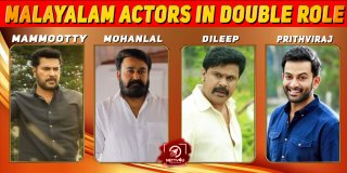 Malayalam Actors in Double role