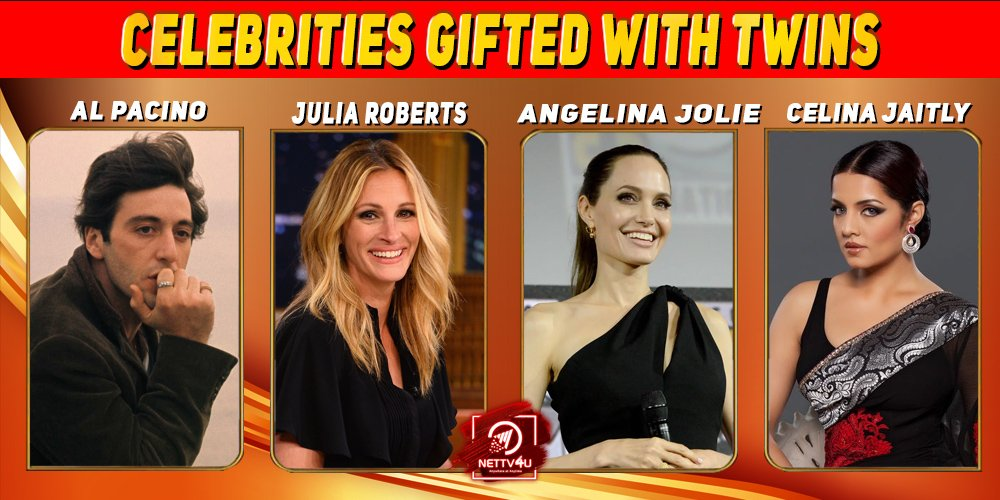 Celebrities Gifted With Twins