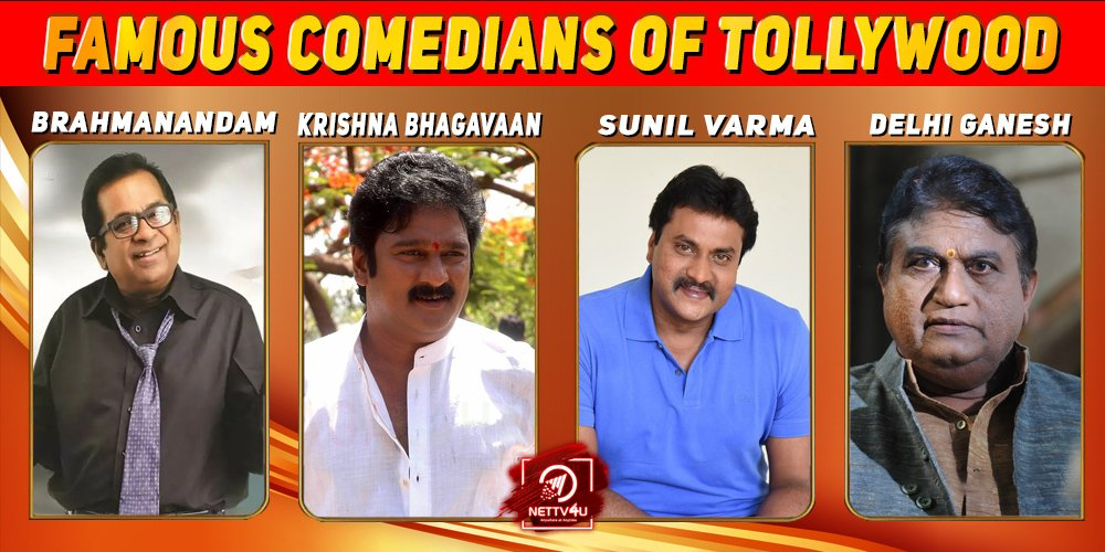 Famous Comedians Of Tollywood