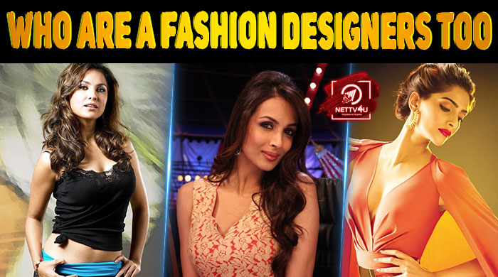 Top 10 Bollywood Celebrities Who Are A Fashion Designers Too Latest Articles Nettv4u