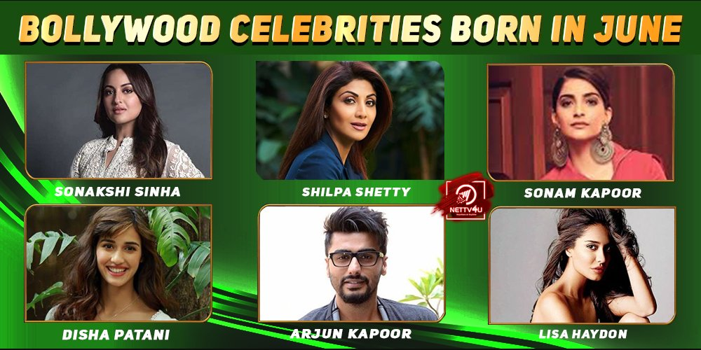 Top Bollywood Celebrities Who Were Born in June