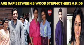 The Shocking Age Gap Between Stepmothers And Their Kids In Bollywood
