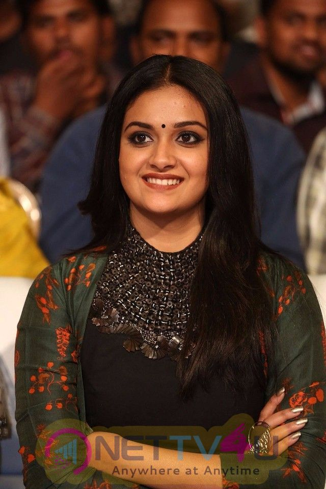 Actress Keerthy Suresh Angelic Images Tamil Gallery