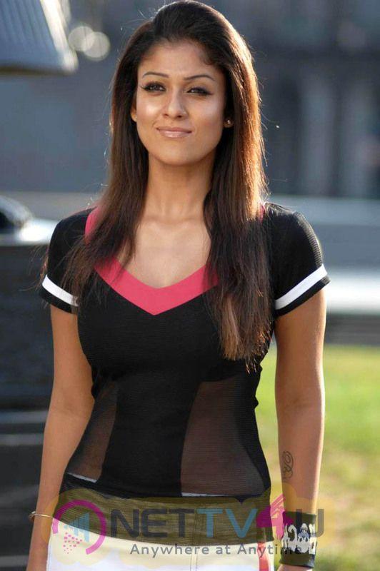Actress Nayanthara Romantic Stills Tamil Gallery