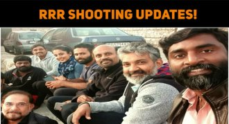 RRR Team Getting Ready To Shoot?