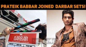 Prateik Babbar Joined Darbar Sets!