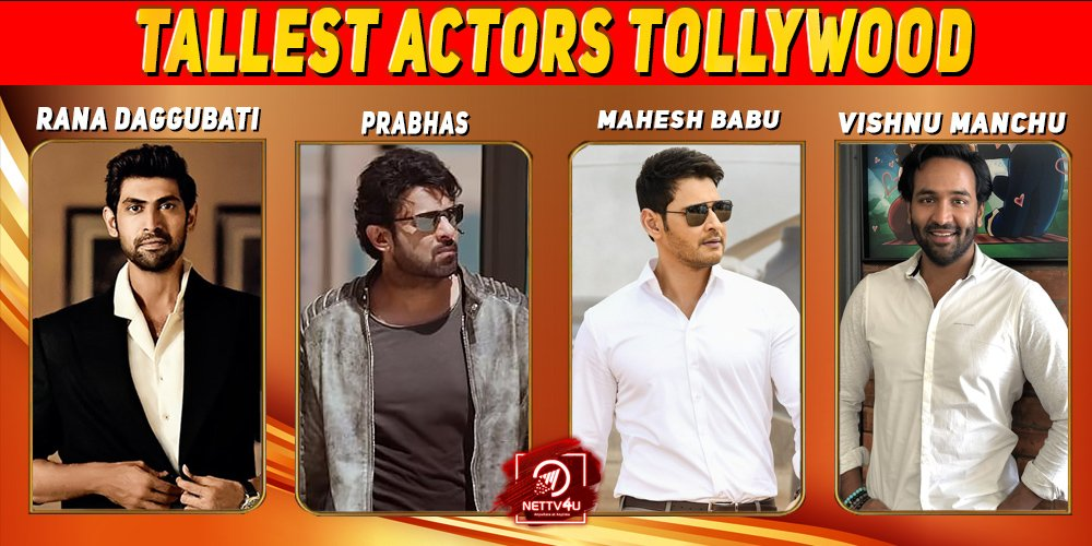 Top 5 Tallest Actors Tollywood