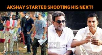 Akshay Kumar Started Shooting His Next!