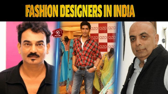 Top 10 Fashion Designers In India Latest Articles Nettv4u