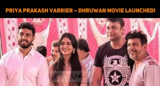 Priya Prakash Varrier – Dhruwan Movie Launched!..