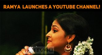 Ramya Nambeesan Launches Her YouTube Channel!