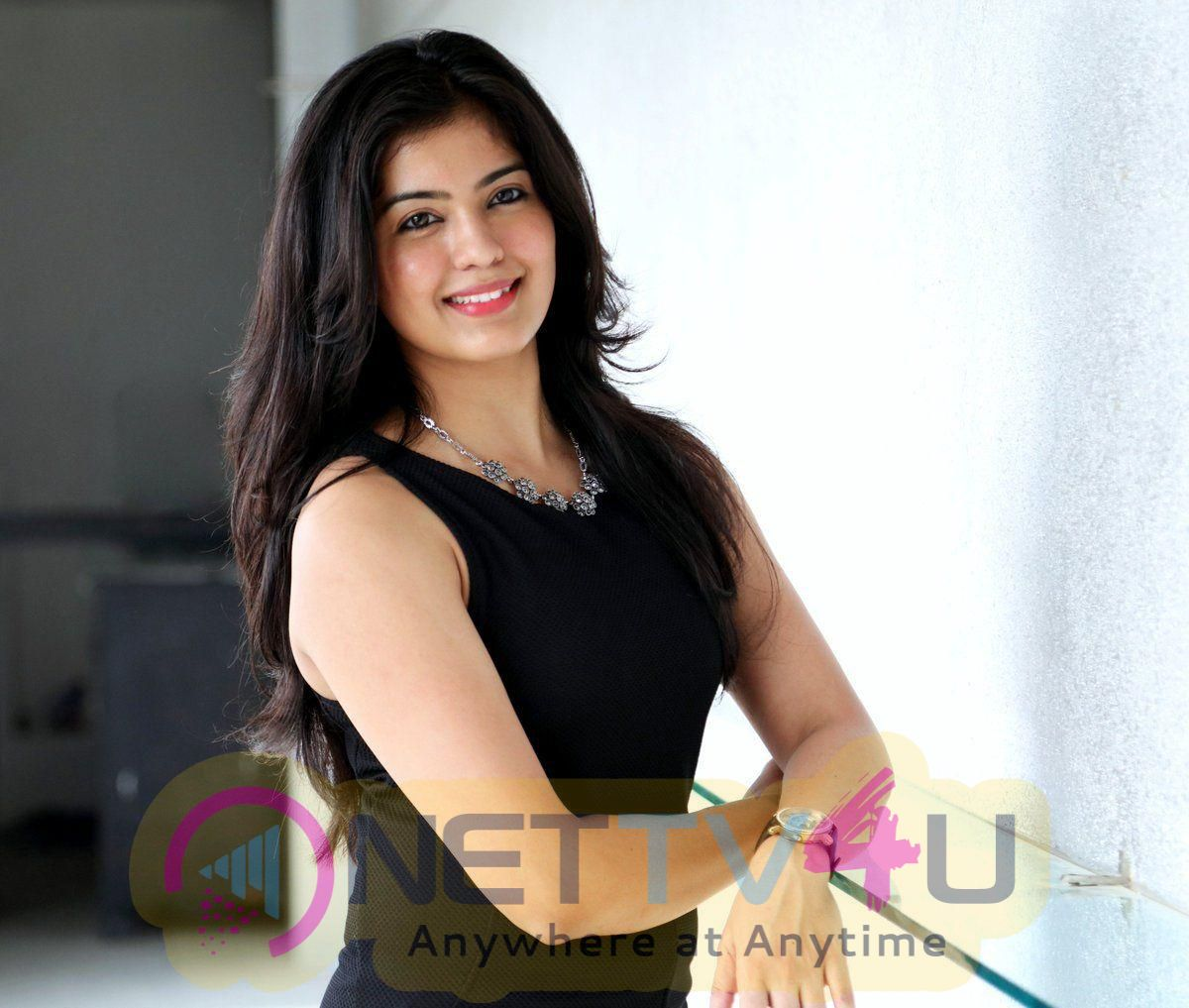 Actress Amritha Aiyer Lovely Pics  Tamil Gallery