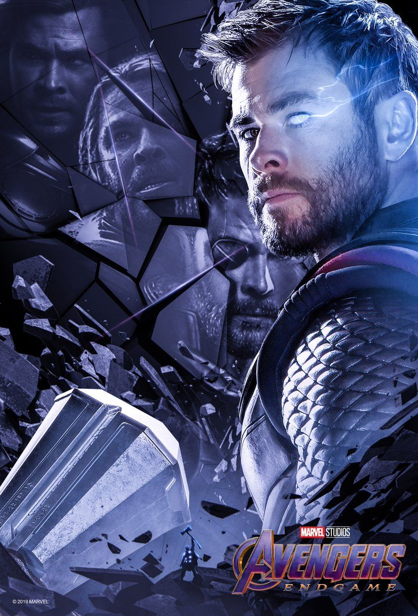 Avengers End Game Posters English Gallery