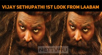 Stunning Look Of Vijay Sethupathi From Laabam I..