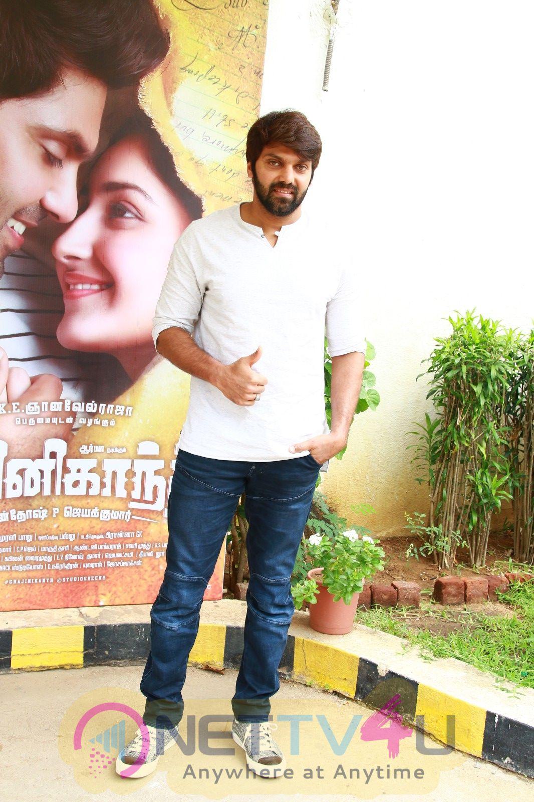 Gajinikanth Movie Press Meet Photos Tamil Gallery