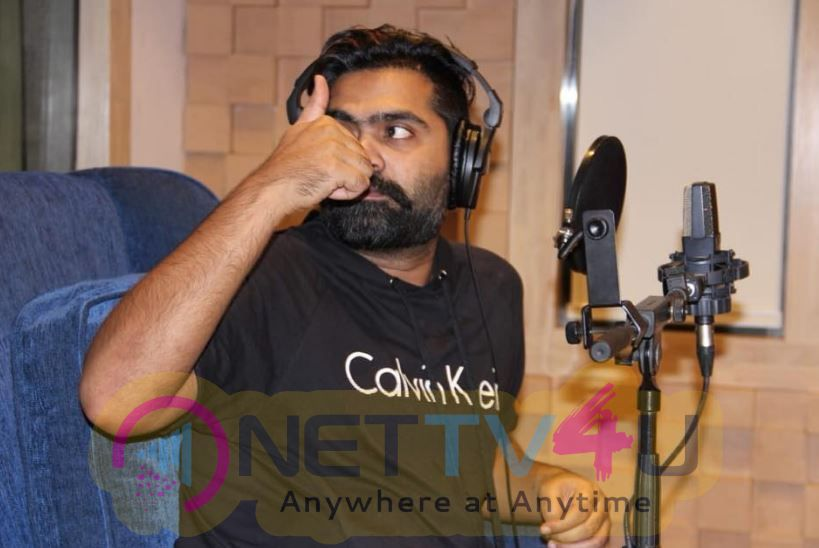 STR Dubs For His Portions In Jyotika Starrer Kaatrin Mozhi Pics Tamil Gallery