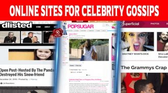Top 10 Best Online Sites For Celebrity Gossips