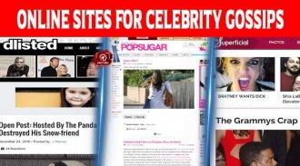 Top 10 Best Online Sites For Celebrity Gossips
