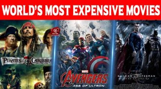Top 10 World's Most Expensive Movies