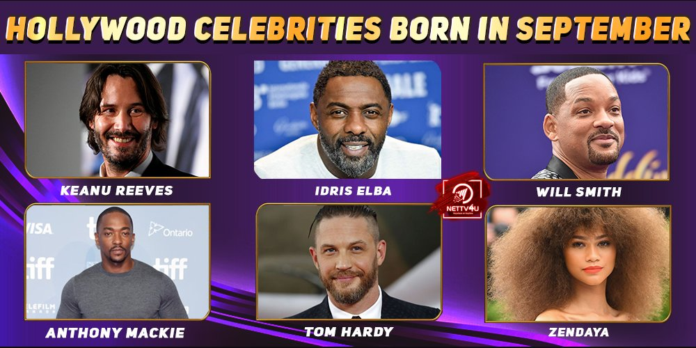 Top Hollywood Celebrities Who Were Born in September