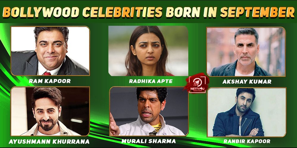 Top Bollywood Celebrities Who Were Born in September