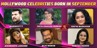 Top Mollywood Celebrities Who Were Born in September