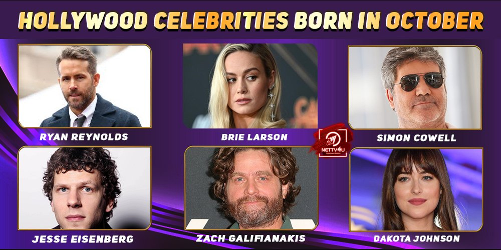 Top Hollywood Celebrities Who Were Born in October