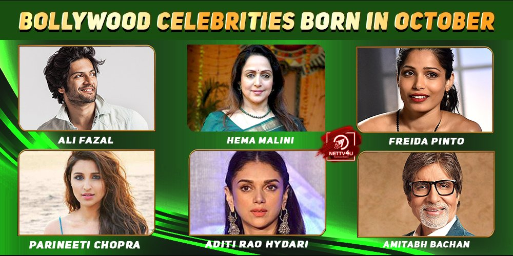Top Bollywood Celebrities Who Were Born in October