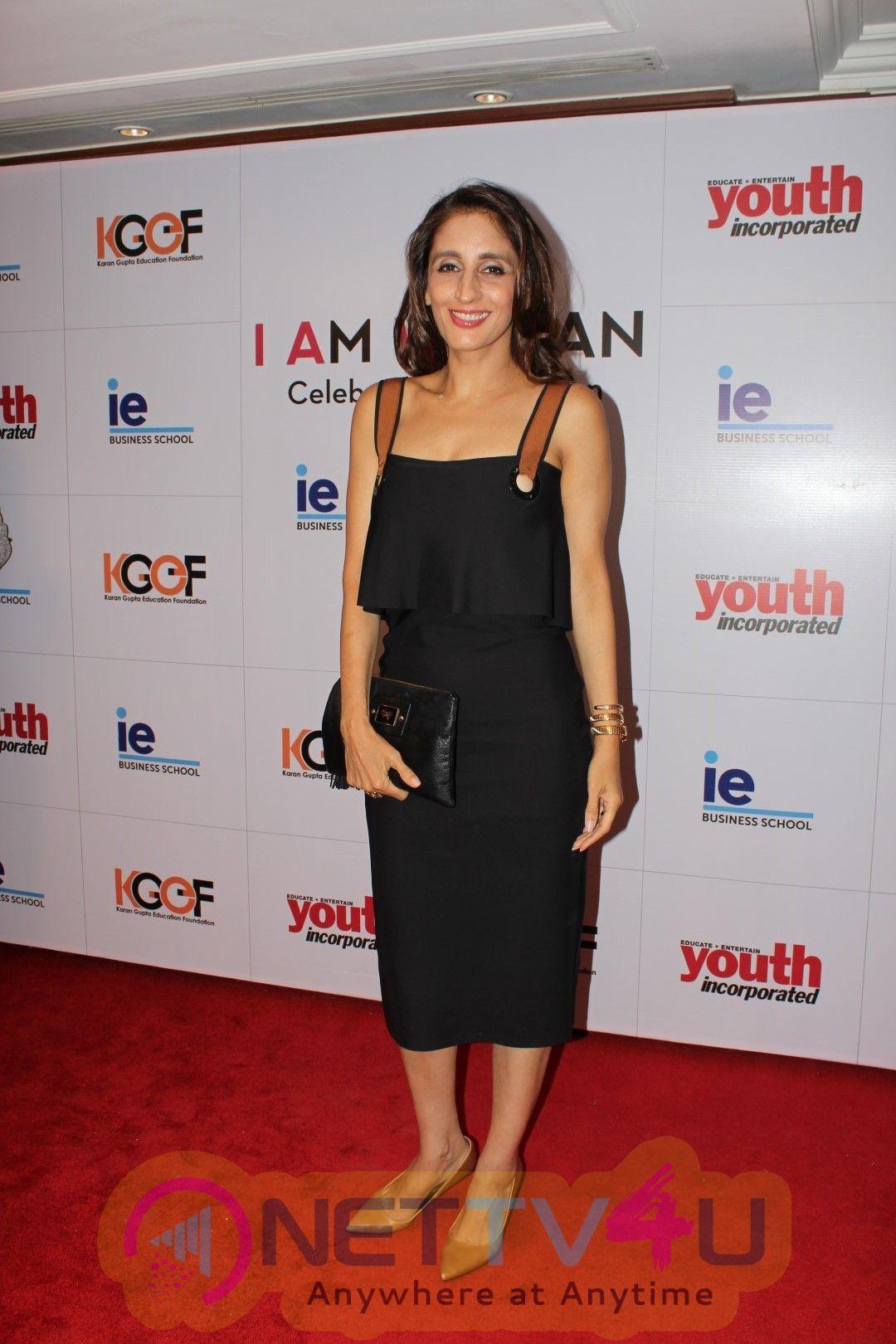 Amruta Fadnavis, Rohit Roy And Malaika Khan At I Am Woman Awards  Hindi Gallery