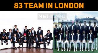 Team 83 Gone To London To Start Their First Sch..