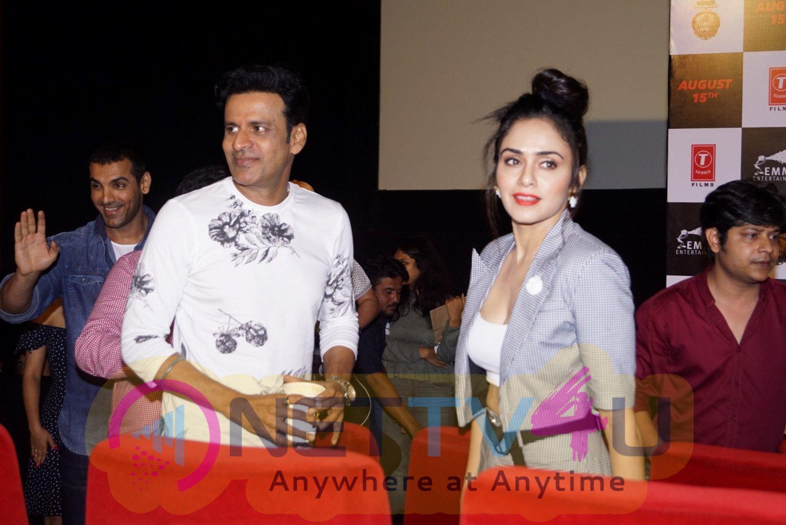 Trailer Launch Of Flim Satyameva Jayate Superb Images Hindi Gallery