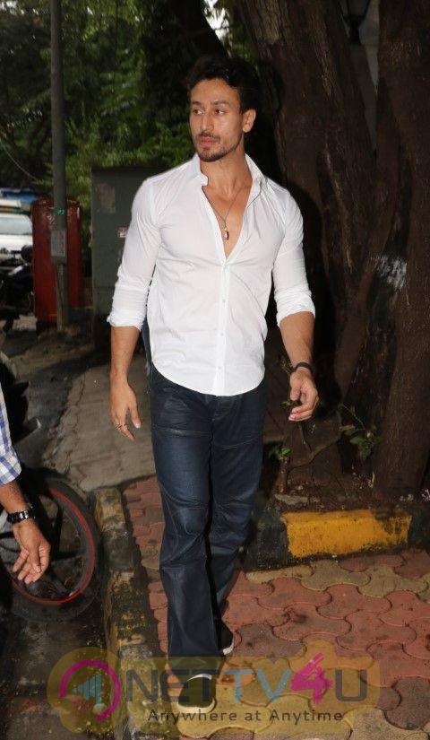 Tiger Shroff Came To Sanjay Leela Bhansali OfficePhotos Hindi Gallery