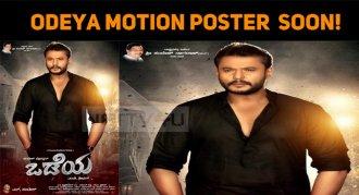 Darshan's Odeya Motion Poster Getting Ready!