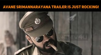 Wow! Rakshit! Avane Srimannarayana Trailer Is J..