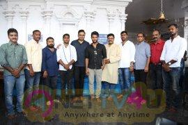 Sri Hanuman Movie Makers Adhi Saikumar New Movie Pooja