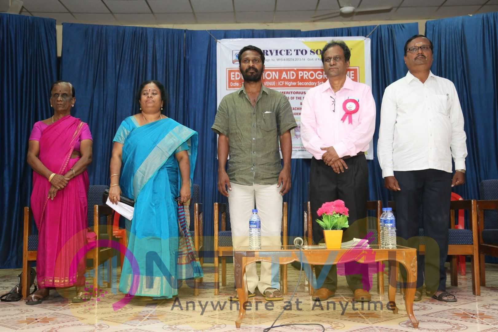 Director Vetrimaaran At Service To Society  Educational AID Program At ICF Higher Secondary School  Best Images Tamil Gallery
