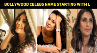 Top Ten Bollywood Celebs Name Starting With L