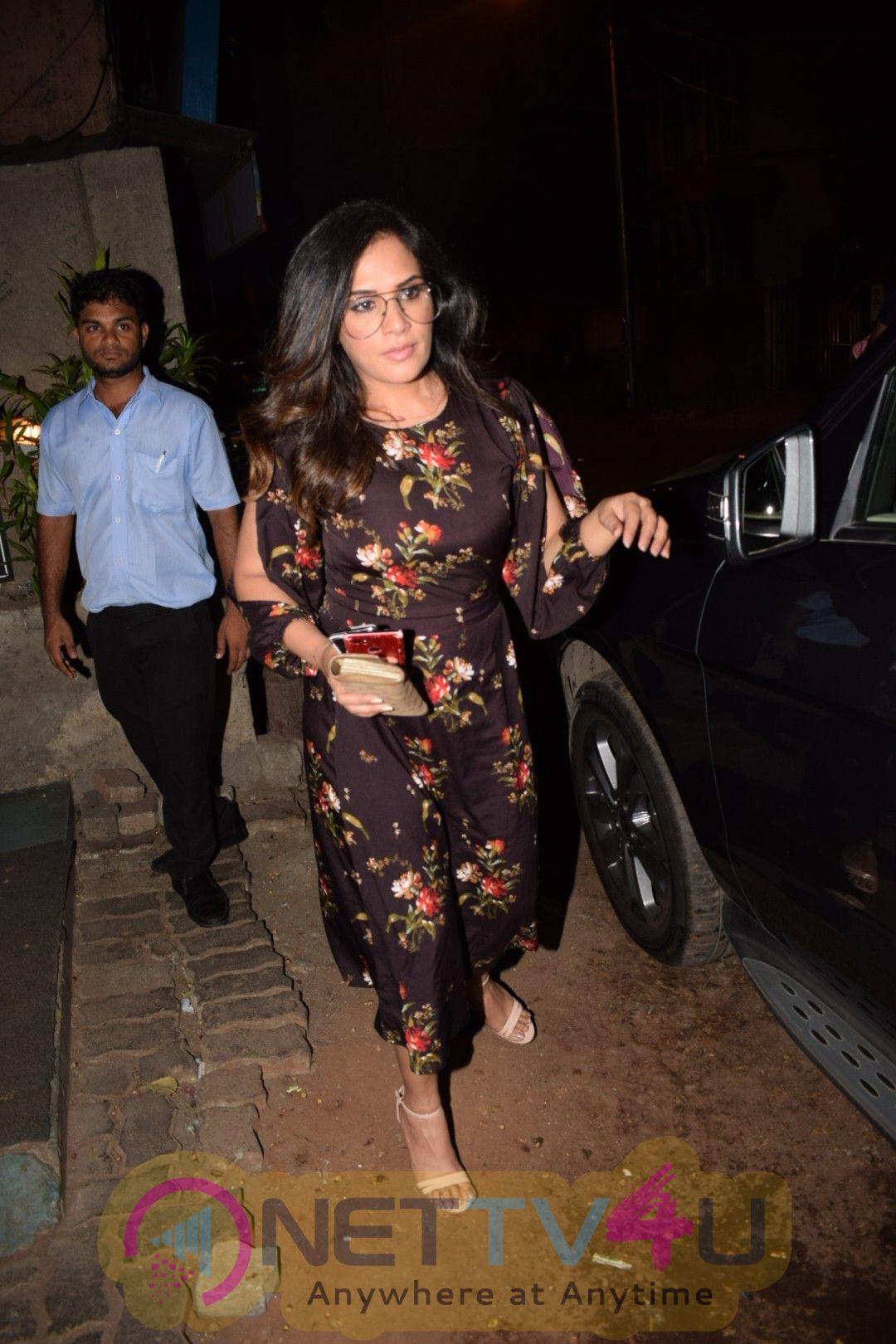 Richa Chadda Came To Pali Village Cafe Hindi Gallery