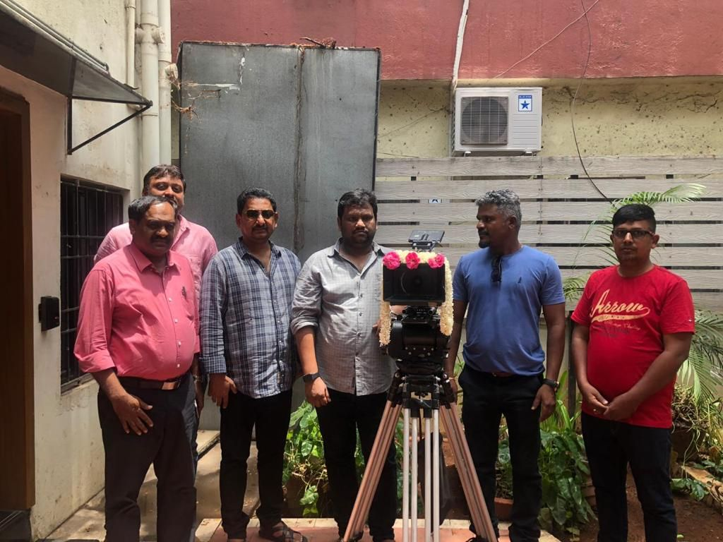 Kadaram Kondan Movie Final Patch Work Completion Pics Tamil Gallery