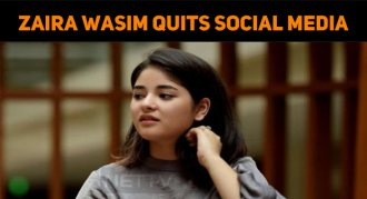 Zaira Wasim Quits Social Media Due To The Troll..