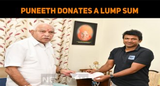 Puneeth Rajkumar Donates A Lump Sum To Karnatak..