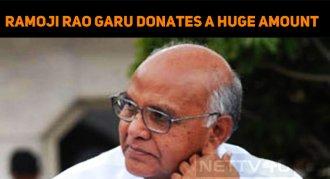 Ramoji Rao Group Chairman Donates A Stunning Am..