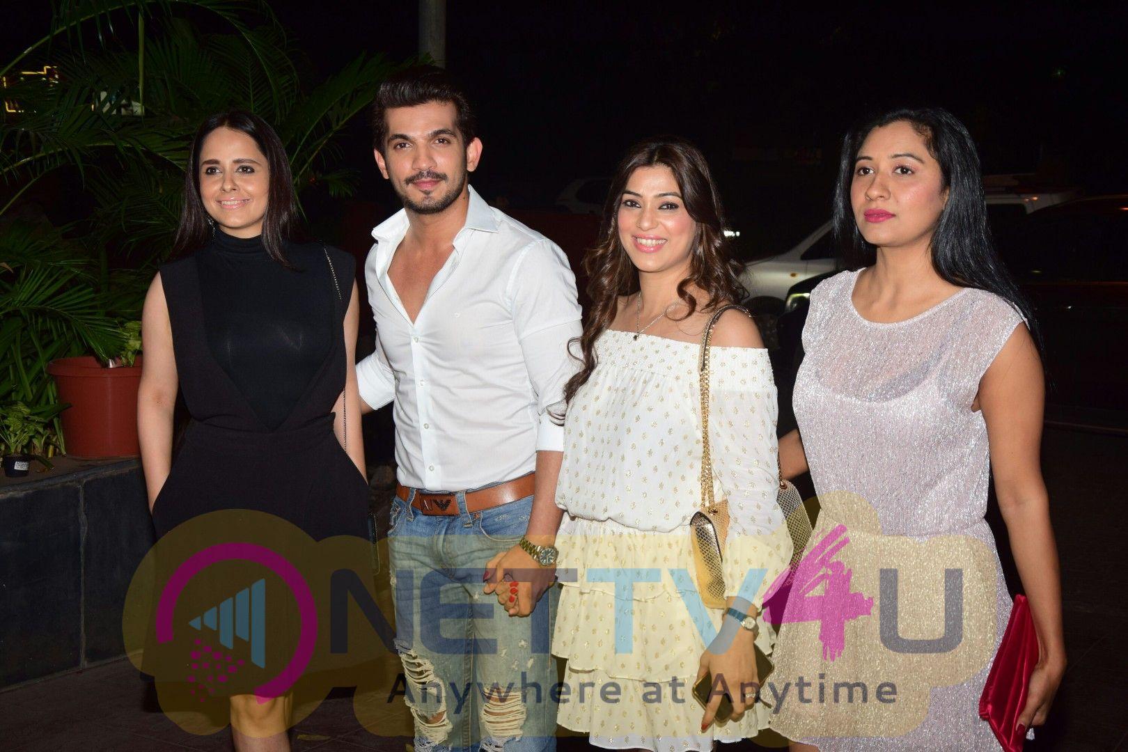 Karishma Tanna ,Adaa Khan & Other Tv Celebs At Attend Arjun Bijlani Birthday Party Pics Hindi Gallery