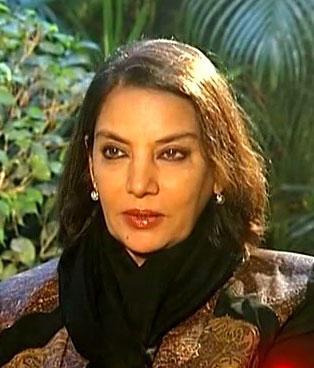 Shabana Azmi Hindi Actress