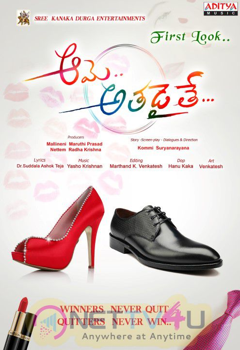 Aame Athadaithe Telugu Movie Images & Poster Telugu Gallery