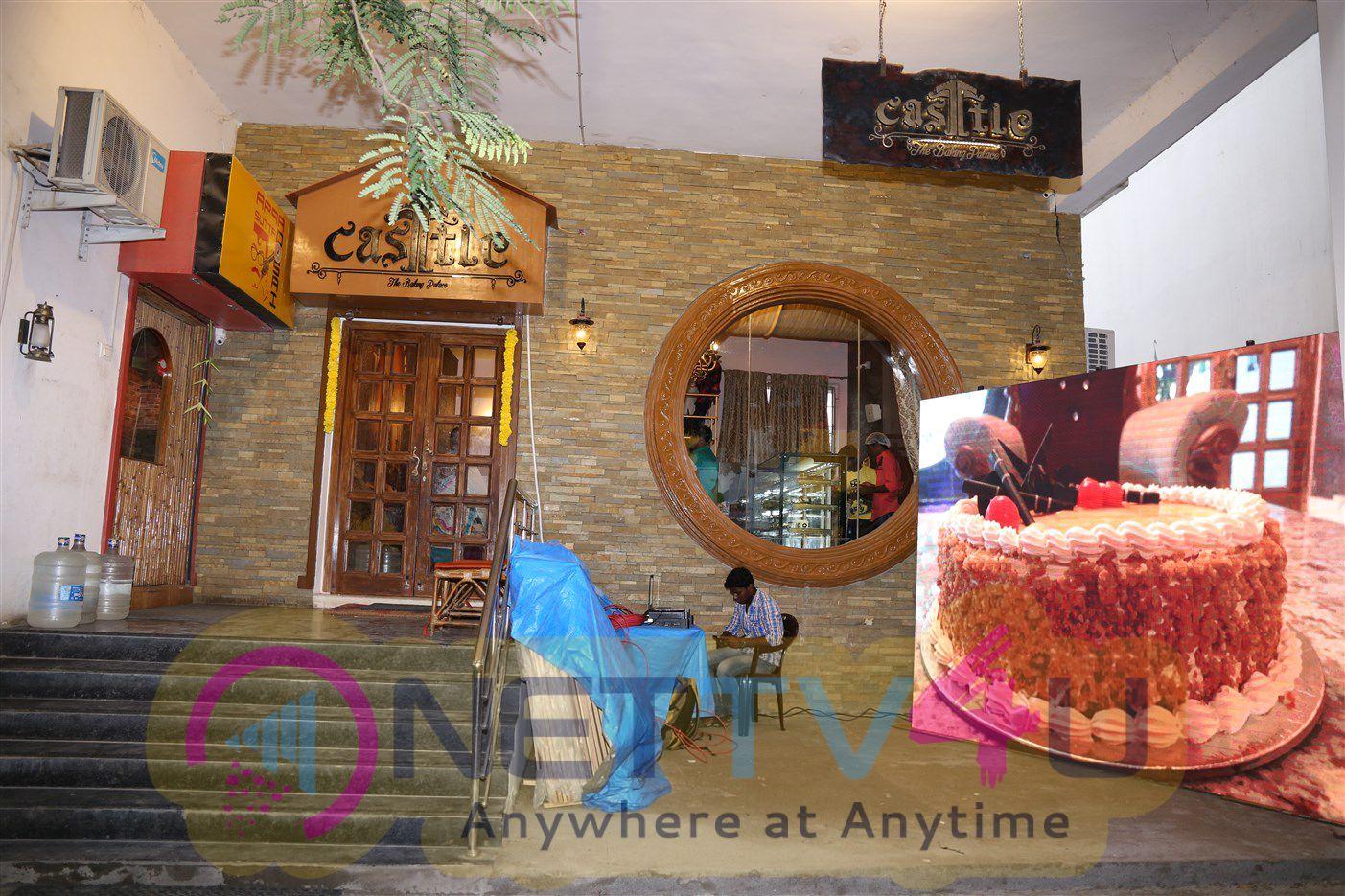 Actor & Actress Castel Cake Shop Photos Tamil Gallery